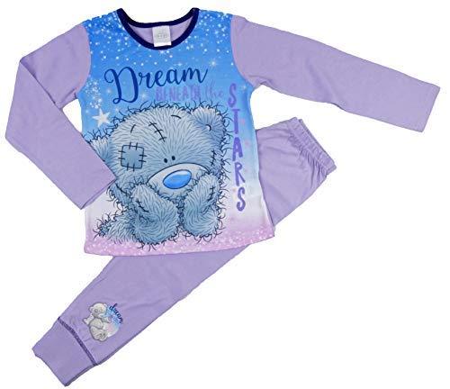 Mädchen Disney Princess Ariel Kleine Meerjungfrau Pyjama Pyjama Pyjama Nachtwäsche Nachtwäsche - Tatty Teddy, 116