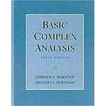 Basic Complex Analysis by Jerrold E. Marsden (1998-12-15)