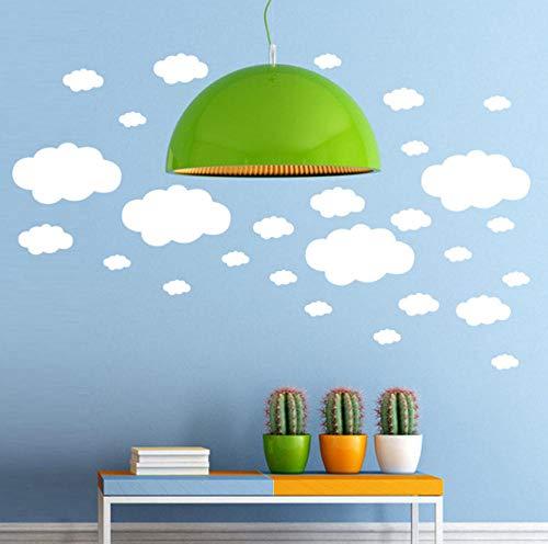 Wolken - Ballon - Wand - Abziehbilder Diy Wandaufkleber Für Kinder Kinderzimmer Decken - Wand - Deko Wallpper Hauptdekoration Abziehbilder Aufkleber (Decke-wand-abziehbilder)