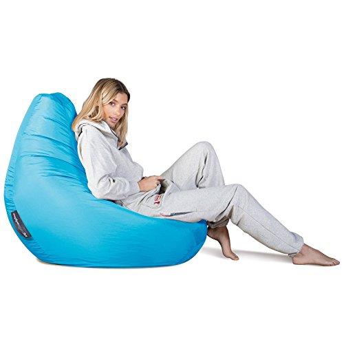 Highback Gaming Sitzsack Loungesessel - Aqua - 4