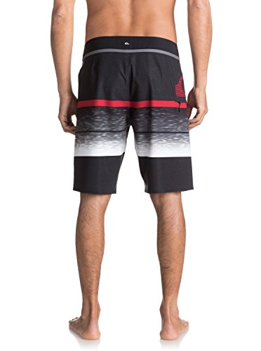 "Quiksilver Herren Slab Logo Vee 20""-Board Shorts iron gate"