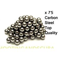Smk 9.5mm Carbon Steel Bb Ammo For Sling Shot / Catapult Ammo - 75