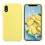SURPHY Coque iPhone XR, Coque Etui Bumper iPhone XR Silicone Liquide Antichoc Premium...