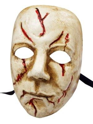 Deluxe Handarbeit Michael Myers Horror Film Charakter Full Face venezianische Masquerade (Michael Maske Deluxe Myers)