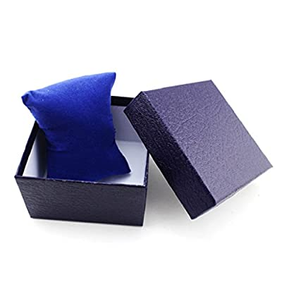 Oyedens Plain Wacth Gift Box Bracelet Bangle Present Case with Foam Pad : everything 5 pounds (or less!)