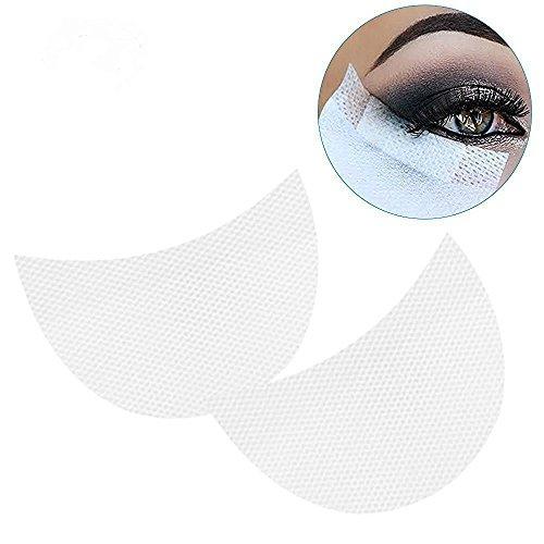 uflage-Aufkleber Weiße Farbe weiche Lint unter Augen-Auflage-Auflage-Aufkleber-Bänder falsche Wimpern-Verlängerung Einmalige nichtgewebte Augen-Auflagen ()