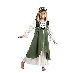 Limit Sport - Disfraz infantil Clarisa medieval, 11-13 años, color verde (MI792 T6)