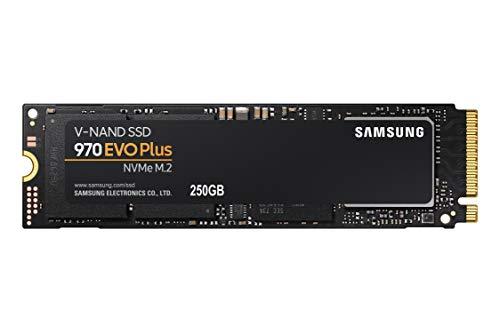 Samsung MZ-V7S250BW SSD 970 EVO Plus 250 GB M.2 Interne NVMe SSD (bis zu 3.500 MB/s)