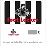 Footlocker Geschenkkarte - für Deutschland - per E-Mail