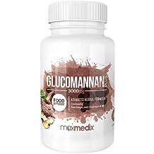 Glucomanano Suplemento Supresor Del Apetito - Inhibidor Del Apetito Para Conseguir Tu Peso Ideal - Consigue