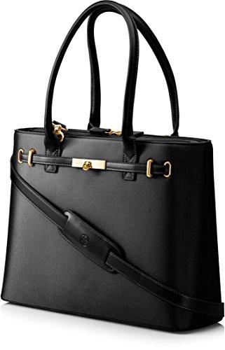 HP T7B38AA#ABB Notebook-Schultertasche (für Damen 39,6 cm (15,6 Zoll)) schwarz (Italienischen Damen Laptop-tasche Leder)