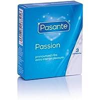 Pasante Passion (Ribbed) Sparpack 12x3 Rippenkondome preisvergleich bei billige-tabletten.eu