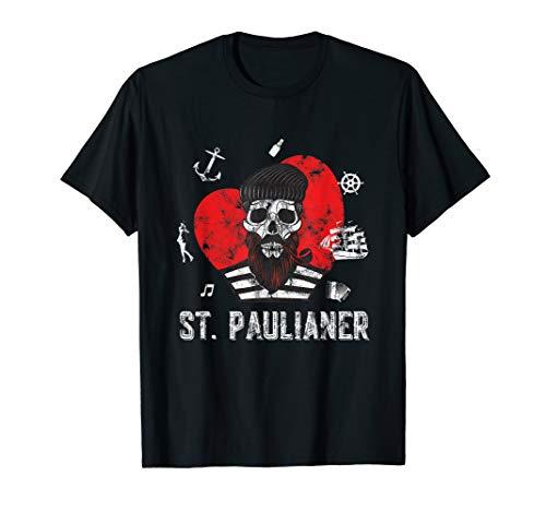 St. Pauli Shirt Hamburg Paulianer Sankt Pauli Totenkopf