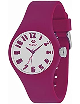 35506-16 Marea Silikon Uhr, Damenuhr in 3D Optik