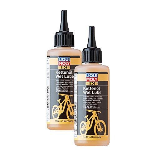 2x LIQUI MOLY 6052 Bike Kettenöl Wet Lube Fahrrad E-Bike Pflege Schmieröl 100m