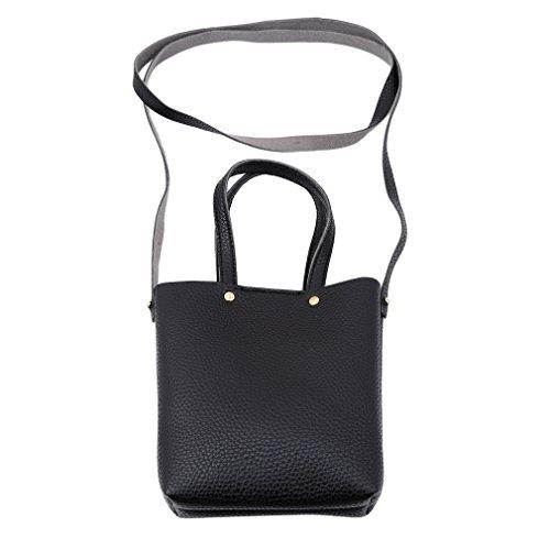 Yinew Kleine Seite Bedeckte Schulter Kuriertasche Messenger Bag Damen Tasche