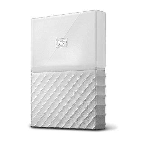 WD My Passport Mobile 1 TB-Festplatte  WDBYNN0010BWT-WESN (weiß)