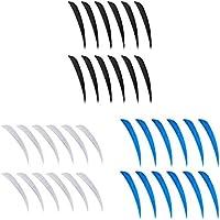 B Baosity 36 unds Plumas de Flechas Productos de Artículos Deportivos Activitades Durable