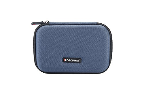 Neopack HDD Hard Case /Cover /Pouch with Shockproof Lining for 2.5 inch Portable Hard Drive - Blue (For Seagate, Toshiba, WD, Sony, Transcend)  available at amazon for Rs.349