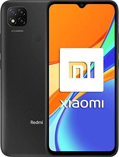 """Oferta de Xiaomi Redmi 9C NFC-Smartphone de 6.53"""" HD+ (3GB+64GB, 3x cámara trasera de 13MP con IA, MediaTek Helio G35, Batería 5000 mAh, 10 W carga rápida), Gris [Versión ES/PT]"""