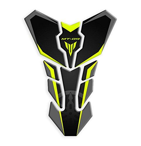 Tankpad / Tankschutz, kompatibel mit dem Motorrad-Modell: Yamaha MT-09, Artikel GP-084 Neon