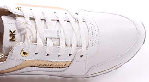 MICHAEL by Michael Kors Conrad Optic Sneaker Donna Optic/Argento