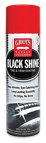 Griot's Garage 10938 Black Shine Tire & Trim Coating by Griot's Garage