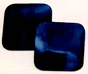 Body Clock 41 x 41 mm square carbon rubber electrodes (4 pack)