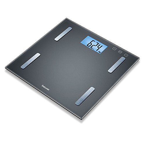 Beurer BF 180 Diagnostic Scales with Body Fat Scale with BMI Calculator and Large LCD Display, Black Best Price and Cheapest