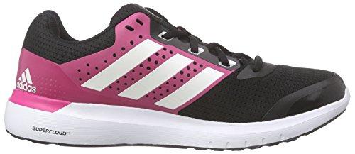 Adidas - Duramo 7, Sneakers da donna Multicolore (Cblack/Ftwwht/Granit)