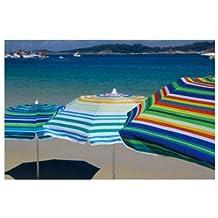 Parasol Playa Aluminio Upf50+ 180 Cm