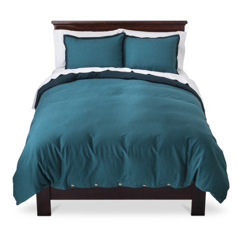 threshold-king-washed-linen-duvet-set-3-piece-with-shams-teal-by-threshold
