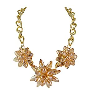Ziba Liselott Collier plastron, couleur: Orange