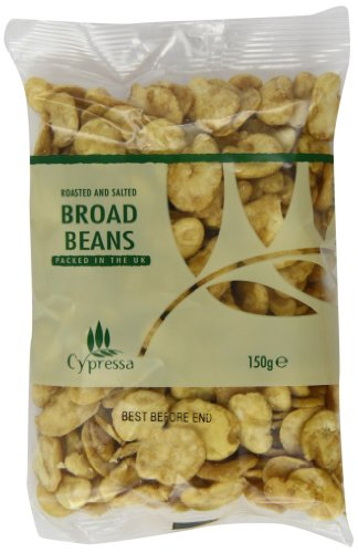 Cypressa Roasted and Salted Broad Beans 150 g (Pack of 12) Braten Board