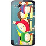 MusicSkins Sticker de protection pour HTC Salsa Motif South Park Salle de classe