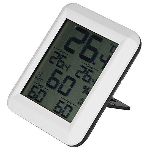 Innendigital Thermometer Hygrometer Haus Temperatur Luftfeuchtigkeit Sensor Device