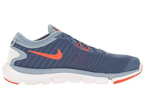 Nike Wmns Flex Supreme TR 4, Chaussures de Gymnastique Femme Bleu - Azul (Ocn Fog / Brght Mng-Bl Gry-Prps)