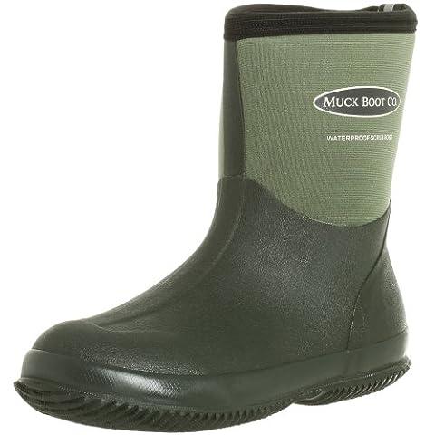 Muck Boots Unisex Adults Gardening Scrub Work Wellingtons, Green (Green 333E), 7 UK 41 EU
