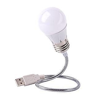 amazlab UB2 LED Retro Idee Glühbirne USB, langlebig Leselicht für Laptops/notebooks geeignet für Reisen, Studie, Camping, Outdoor, Secret Unterschlupf