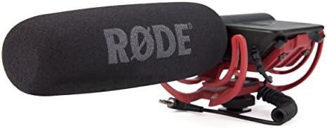 Rode VideoMic Rycote, Microfono Direzionale a Condensatore Mezzo Fucile per Utilizzo con Fotocamere e Videocamere, Nero/Antracite