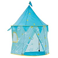 Sue-Supply Play Tent Toy With Glow In The Dark Stars Kids Princess Castle Playhouse Birthday Gift For Children Toddlers Indoor And Outdoor Games
