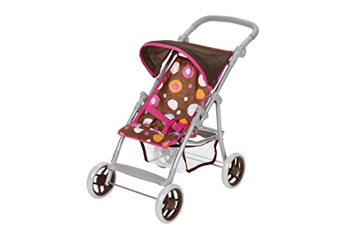 Knorrtoys 16813 - Puppenbuggy Liba - brown (Der Nähe In Party Supplies)