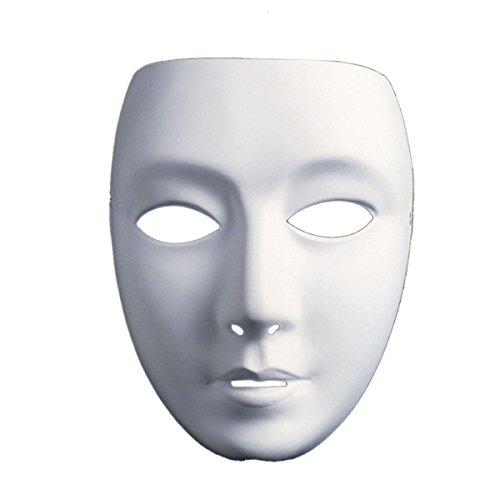 Maschera teatrale maschera veneziana [bianco] maschera mascherata di carnevale