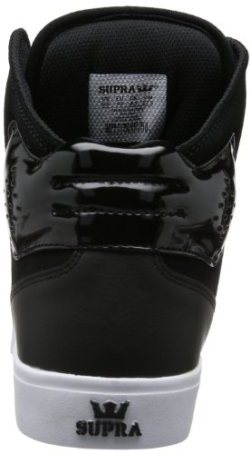 Supra Atom, Sneakers Hautes mixte adulte Noir (BLACK-WHITE BLK)