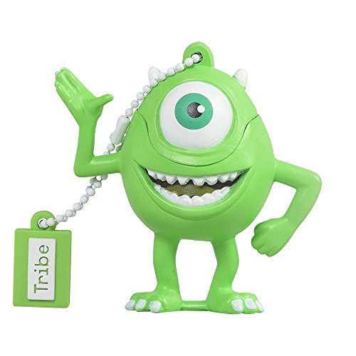 Tribe disney pixar monster & co. mike wazowsky chiavetta usb da 8 gb, verde