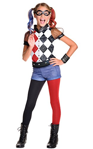 DC Super Hero Girls costume 620712l Harley Quinn di Rubie Deluxe