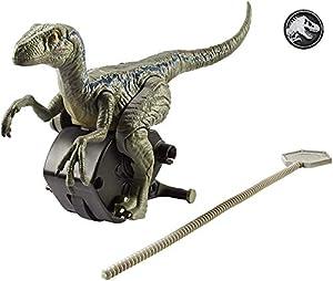 Jurassic World Persecución jurásica, dinosaurio Blue de juguete (Mattel FMM33)