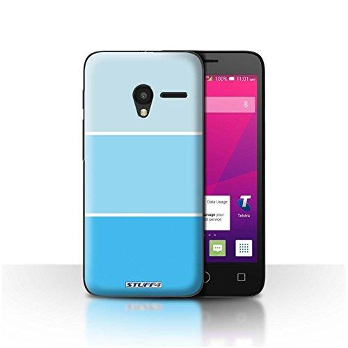 STUFF4 telefono caso/copertina/pelle/ALCPIX45/collezione colori pastello toni blu