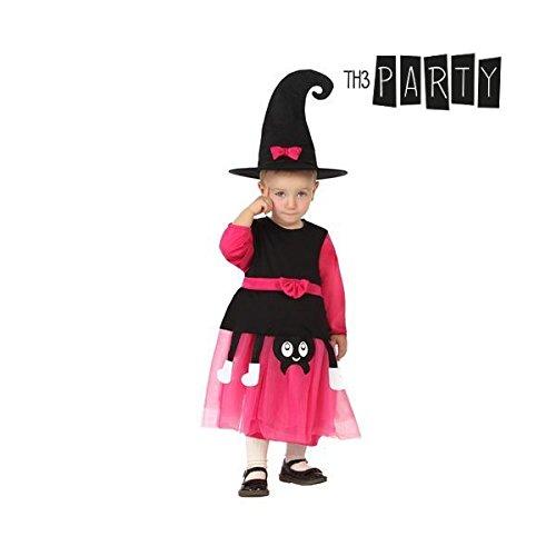 Verkleidung für Babys Hexe (0-6 Monate) (Baby Hexe Kostüm 3 6 Monate)
