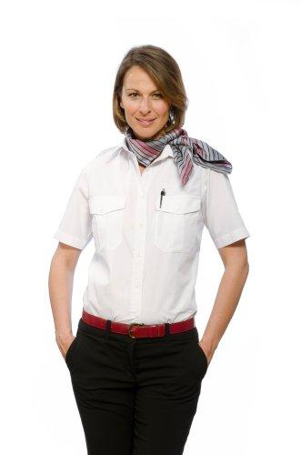 Nordhandel - Camisas - Manga Corta - para mujer Weiß 48